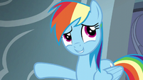 "Rainbow Dash ""churning out Wonderbolts"" S6E7"