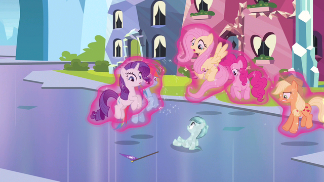 File:Rarity & Rainbow Dash lifted up by magic S3E12.png