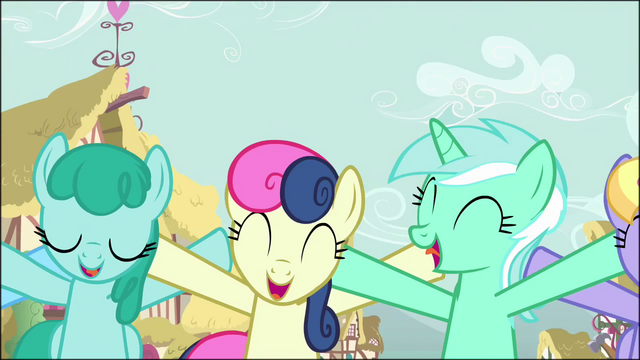 File:Sprinkle Medley, Sweetie Drops, and Lyra Heartstrings singing S02E18.png