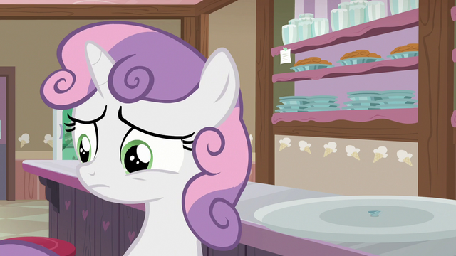 File:Sweetie Belle doesn't want to disappoint Rarity S7E6.png