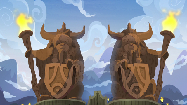 File:Yak statues at Yakyakistan's front gate S7E11.png