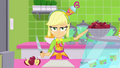 Applejack looking bored at the juice bar SS9.png