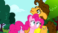 Cheese holding Pinkie Pie close S4E12.png