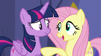 "Fluttershy ""They're probably just as nervous"" S5E11"