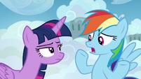 "Rainbow Dash ""I'm not a student!"" S6E24"