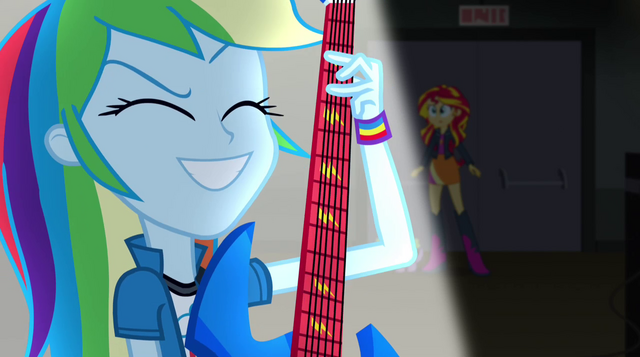 File:Rainbow Dash playing excitedly EG2.png