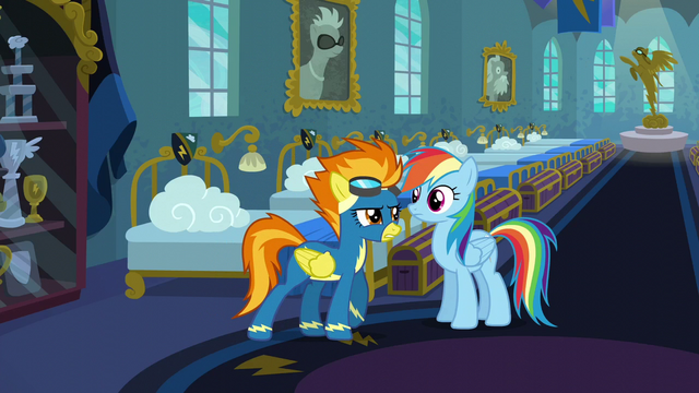 """File:Spitfire """"five minutes to get dressed"""" S6E7.png"""
