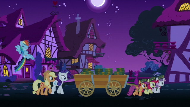 File:Crusaders hauling cart of boxes at nighttime S6E15.png