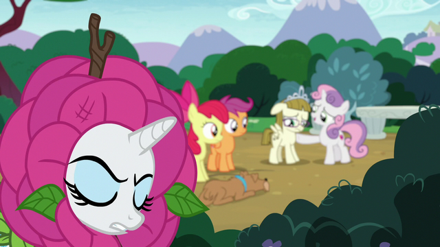 """File:Rarity """"anger is no excuse for poor manners"""" S7E6.png"""