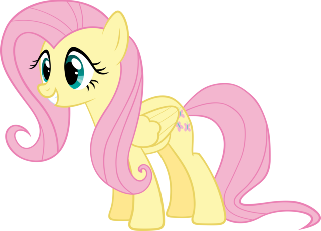 File:FANMADE Excited Fluttershy vector by Myardius.png
