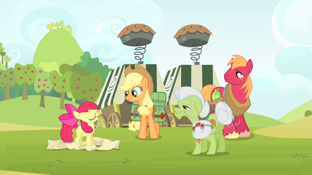 File:Other Apples listening to Apple Bloom talking S4E17.png