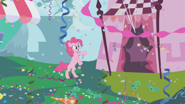 File:Pinkie Pie standing on her hind legs in her gala fantasy S1E03.png