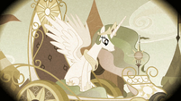 Princess Celestia in the flashback S2E12
