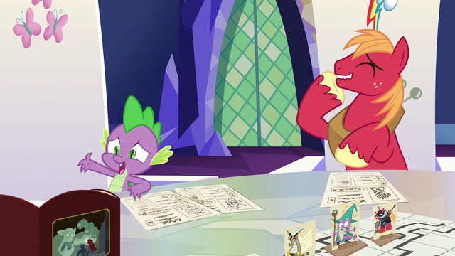 "File:Spike ""I told you, you can't do magic!"" S6E17.png"