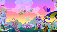 Derpy Hooves Ferris wheel clones S1E23