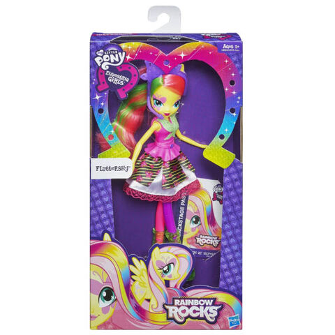 File:Fluttershy Equestria Girls Rainbow Rocks neon doll packaging.jpg