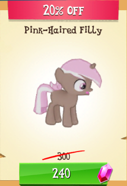 File:Pink-Haired Filly MLP Gameloft.png