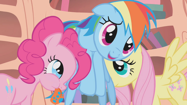 File:Pinkie Pie and Fluttershy help Rainbow up S1E09.png