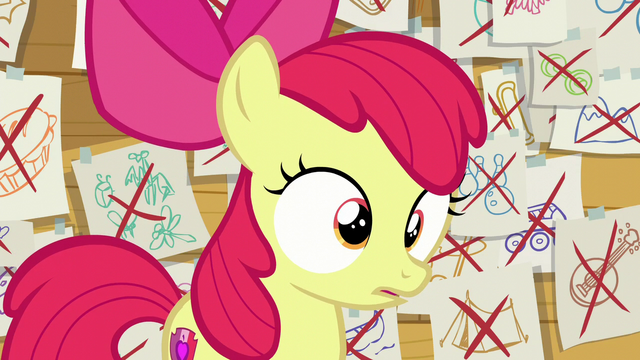 "File:Apple Bloom surprised ""oh"" S6E4.png"