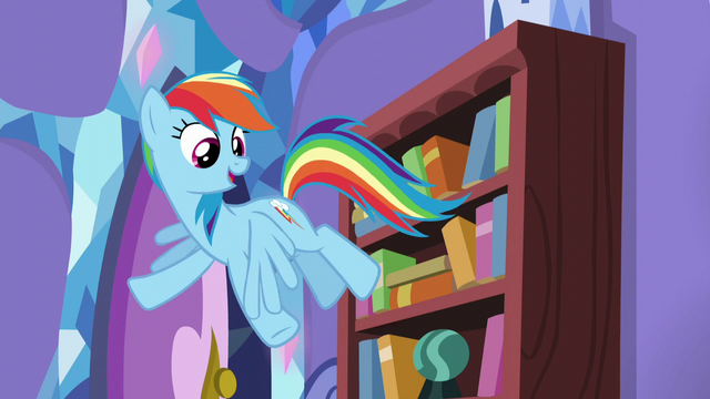 "File:Rainbow ""being the one who's getting the surprise!"" S5E19.png"
