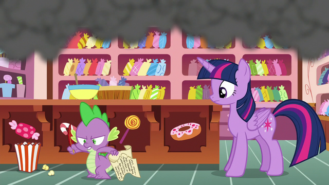 File:Spike angrily jumps off the kitchen counter S6E22.png