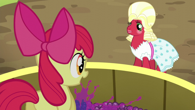 File:Apple Bloom squishing grapes S5E17.png