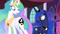 Celestia and Luna shocked by their switched cutie marks S7E10.png