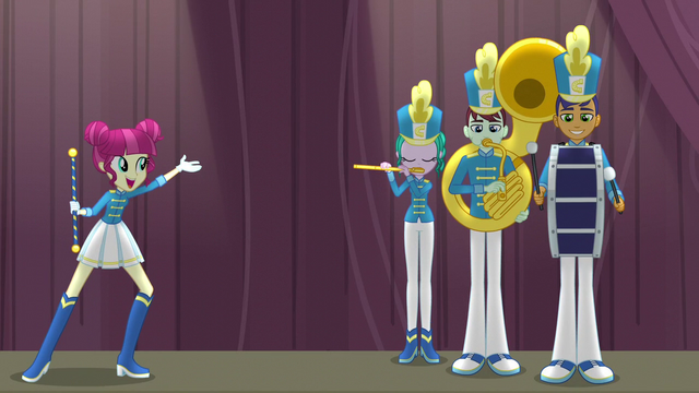 """File:Drum majorette singing """"of the day"""" EG3.png"""