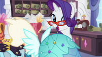 "Rarity ""is that the customer"" S5E14"