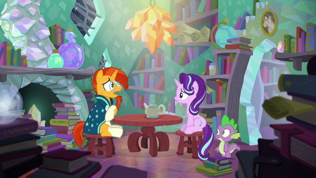 "File:Sunburst ""reading about magic is one thing"" S6E2.png"