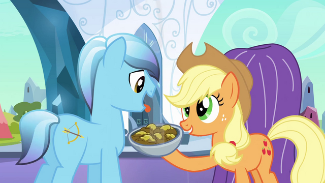 File:Applejack 'You're gonna love em' S3E2.png