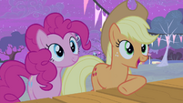Applejack praising Big Mac S4E14