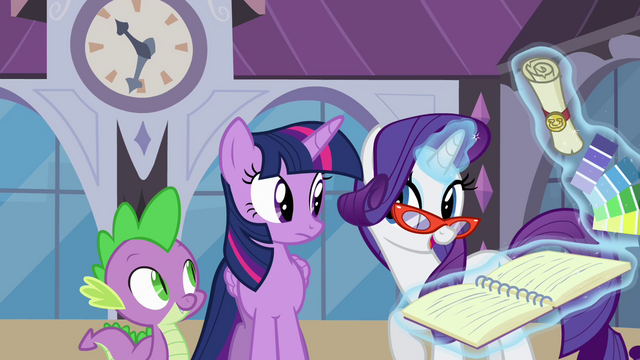 File:Rarity discussing Twilight's appointment S4E01.png