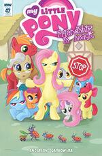 Comic issue 47 cover RI
