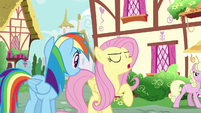 """Fluttershy """"Zephyr's my brother, and I love him"""" S6E11"""