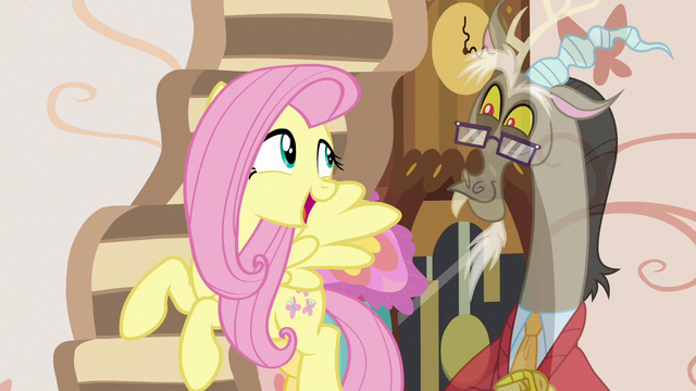 "File:Fluttershy ""that would actually chase you!"" S7E12.png"