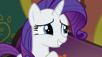 "Rarity ""slight modifications to the menu"" S6E12"