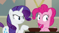 "Rarity ""you are going to cook!"" S6E12"