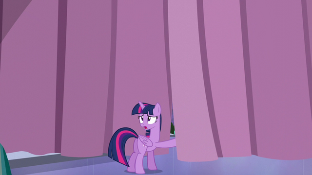File:Twilight standing near the Crystalling curtain S6E1.png