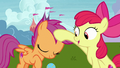 Apple Bloom pats Scootaloo on the head S7E6.png