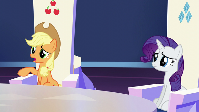 "File:Applejack ""not exactly clear on all the customs"" S6E1.png"