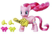 Explore Equestria Pinkie Pie Cheering poseable figure