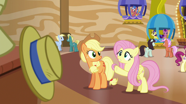 "File:Fluttershy ""sure he isn't the cause of yours"" S6E20.png"