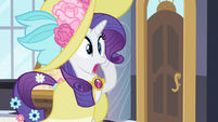 Rarity surprised S2E9