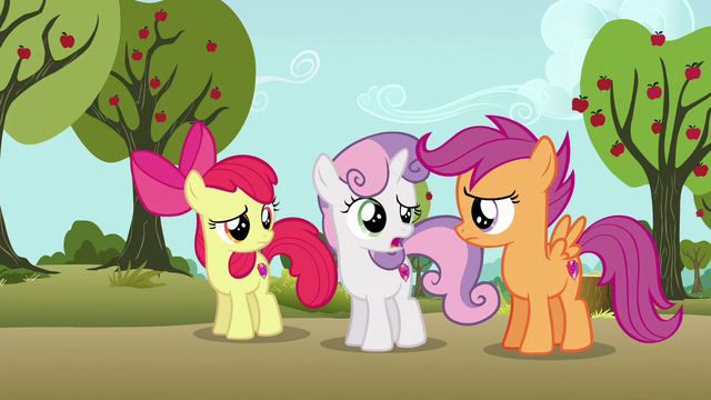 "File:Sweetie Belle ""maybe that could've been clearer"" S6E19.png"