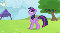 """Twilight """"one of the teams you're practicing with"""" S4E10"""