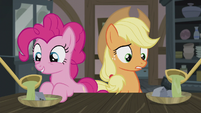 AJ and Pinkie get a second helping of soup S5E20