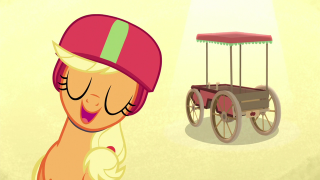 "File:Applejack ""my cart's the most traditional"" S6E14.png"