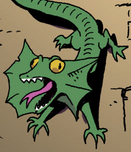 File:Comic issue 3 frill-necked lizard.png