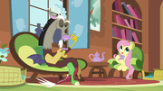 Fluttershy mentions her friend Tree Hugger S5E7